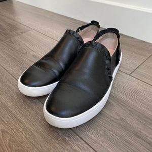 Kate Spade Leather Slip-Ons